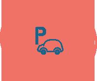 Parcheggio<br>Gratuito